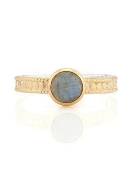 Labradorite Stacking Ring by Anna Beck