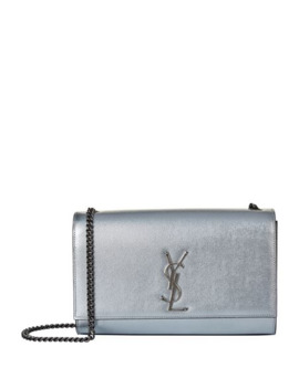 Medium Metallic Kate Shoulder Bag by Saint Laurent
