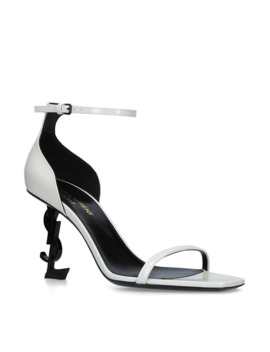 Leather Opyum Sandals 85 by Saint Laurent