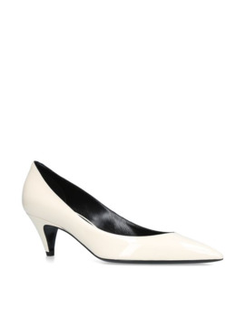 Patent Charlotte Pumps 55 by Saint Laurent