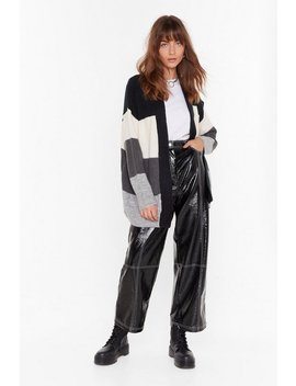 We've Seen Your True Colors Knit Longline Cardigan by Nasty Gal