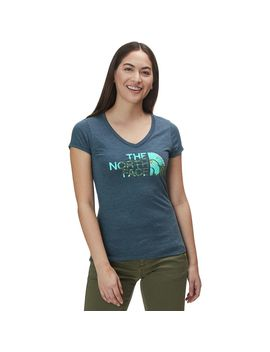 Half Dome V Neck Tri Blend T Shirt   Women's by The North Face