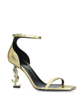 Metallic Opyum Sandals 85 by Saint Laurent