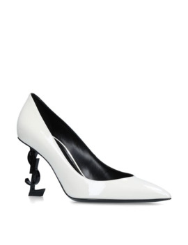 Patent Leather Opyum Pumps 85 by Saint Laurent