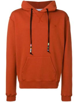 Saffron Beaded String Hoody by Jw Anderson