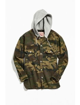 Levi's Jackson Hooded Denim Overshirt by Levi's