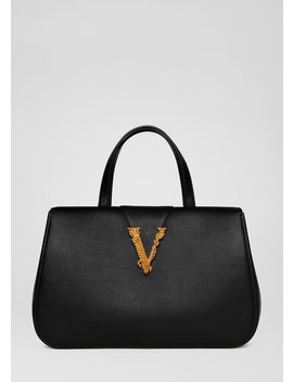 Virtus Tote Bag by Versace