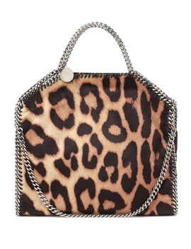 Falabella Mini Leopard Print Tote by Stella Mc Cartney