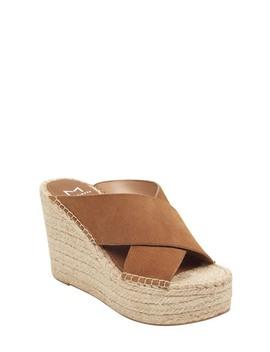 Aden Platform Wedge Sandal by Marc Fisher Ltd