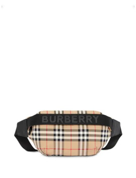 Medium Vintage Check And Icon Stripe Bum Bag by Burberry