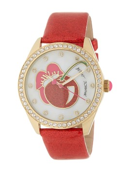 Women's Crystal Pave Glitter Strap Watch, 40mm by Betsey Johnson