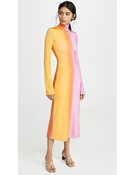Bach Mock Neck Dress by Ellery