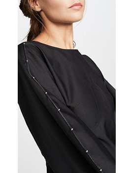 Teeny Voluminous Sleeve Dress by Ellery