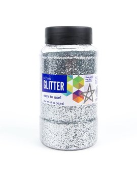 Horizon Group Usa Silver Glitter Paint, 16 Oz., 1 Each by Horizon Group Usa