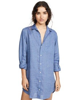 Mary Long Sleeve Button Down Dress by Frank &Amp; Eileen