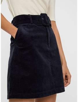 70's Vibe Corduroy Skirt by Bestseller Clothing