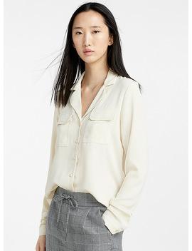 Utilitarian Lapel Shirt by Vero Moda