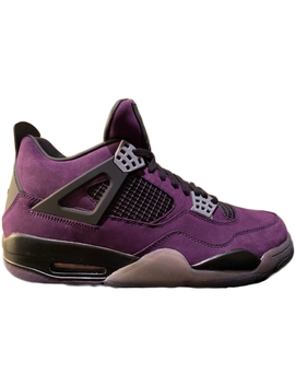 Jordan 4 Retro Travis Scott Purple (Friends And Family) by Stock X