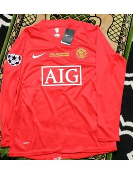 2008 Nike Manchester United Cristiano Ronaldo Ucl Home Jersey   Medium by Nike