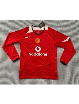 Cristiano Ronaldo Manchester United Brand New Men's Retro Home Red Jersey   M by Ebay Seller