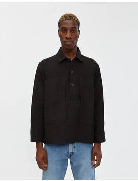 Pullover Linen Shirt by Or Slowor Slow
