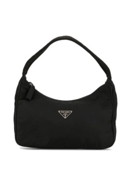 Logo Top Handle Bag by Prada Pre Owned
