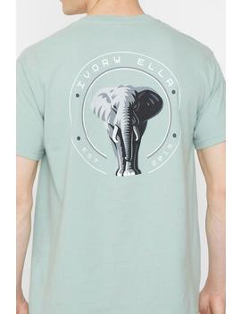 Lily Pad Stand Up For Elephants Classic Fit Tee by Ivory Ella