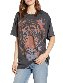 Tiger Graphic Oversize Tee by Wrangler