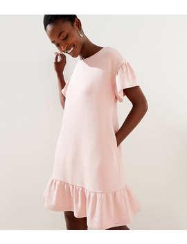 Petite Flounce Tee Dress by Loft