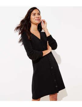 Petite Cardigan Sweater Dress by Loft