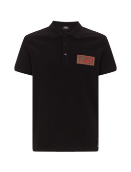 Logo Polo Shirt by Fendi