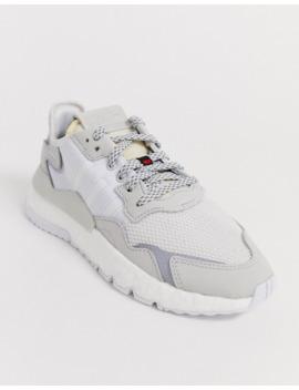 Zapatillas Blancas Nite Jogger De Adidas Originals by Adidas