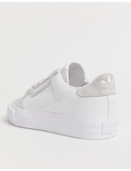 Zapatillas De Deporte Color Blanco Continental 80 Vulc De Adidas Originals by Adidas