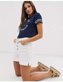 Hollister Drapey T Shirt With Logo by Hollister