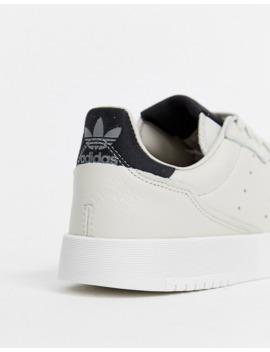 Zapatillas De Deporte Color Hueso Supercourt De Adidas Originals by Adidas Originals