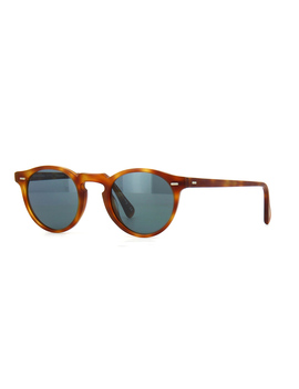 Oliver Peoples Gregory Peck Sun Ov5217 S 1483/R8 Light Brown/Indigo Photochromic by Oliver Peoples Sunglasses