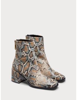 Florence – Boots Aus Schlangenlederimitat by Scotch&Soda
