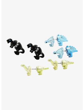 Dinosaur Faux Tunnel Earring Set by Hot Topic