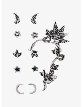 Fairy Stud &Amp; Cuff Earring Set by Hot Topic