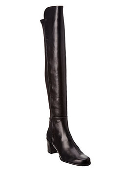 Stuart Weitzman Stand Leather Over The Knee Boot by Stuart Weitzman