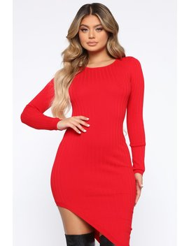 Hips Swing Mini Dress   Red by Fashion Nova