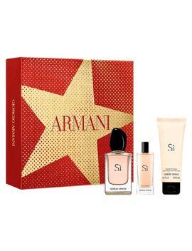 Giorgio Armani Sì 50ml Eau De Parfum Perfume Gift Set For Her by Giorgio Armani