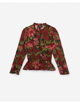 Floral Print Women's Dress Shirt by The Kooples