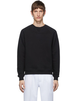 Black Fleece Sweatshirt by Random Identities