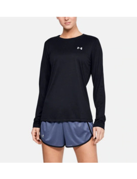 Ua Tech™ Crew Women's Long Sleeve Shirt by Under Armour