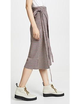 Petra Waist Tie Skirt by Sea