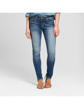 Women's Mid Rise Skinny Jeans   Universal Thread™ Medium Wash by Universal Thread