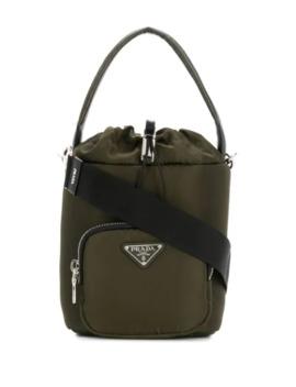 Padded Bucket Bag by Prada