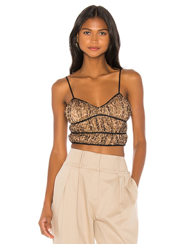 Alexa Ruched Cami Top In Leopard by Superdown