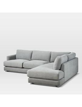 Haven 4 Seater Chaise Modular Sofa (274cm) by West Elm